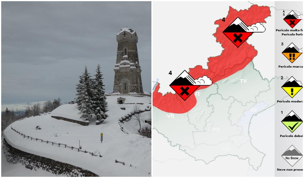 altezza neve Piccole Dolomiti