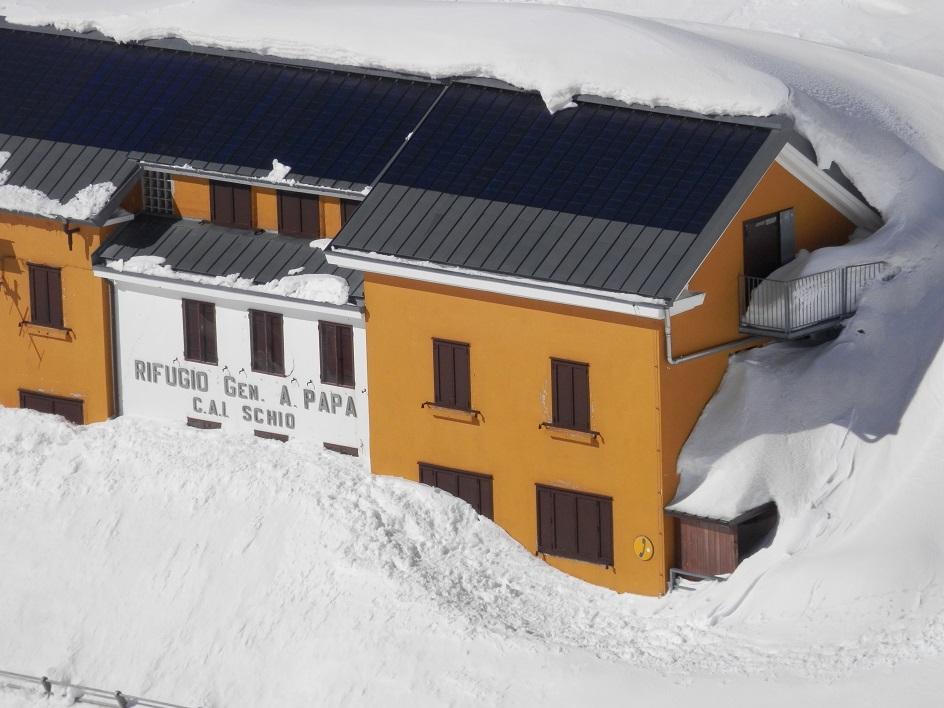 l'inverno sulle Piccole Dolomiti