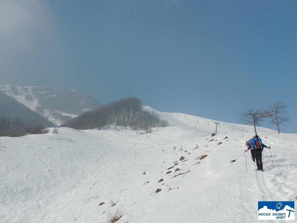 Salita al Monte Falcone