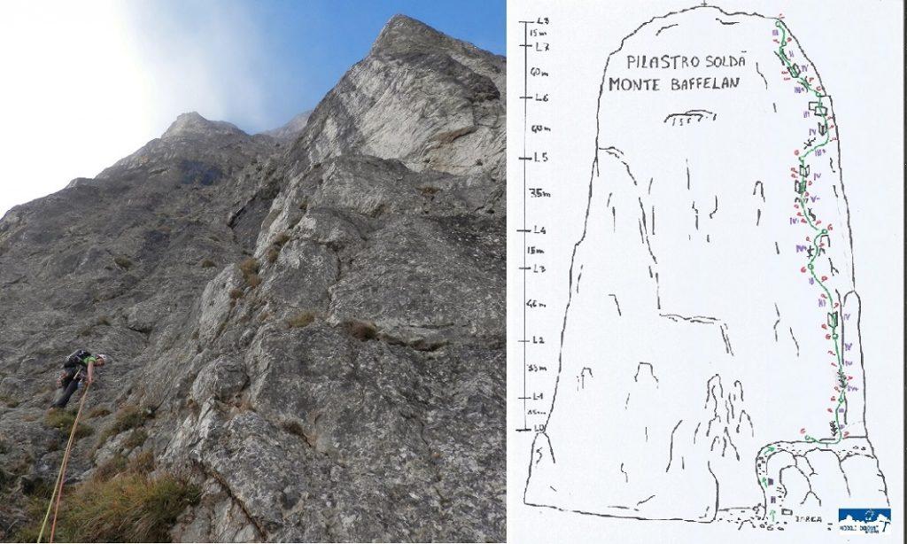 Pilastro Soldà - Monte Baffelan