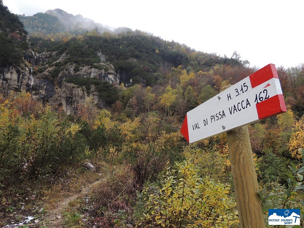 Partenza Val Pissavacca