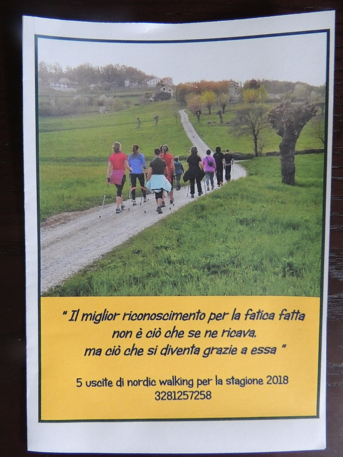 5 uscite nordic walking