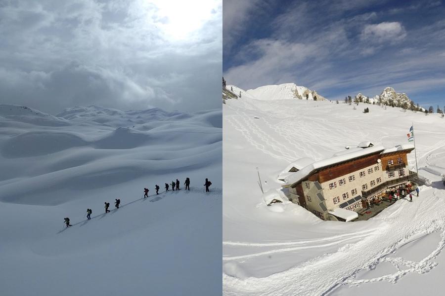 Ciaspolata Alpe Fanes