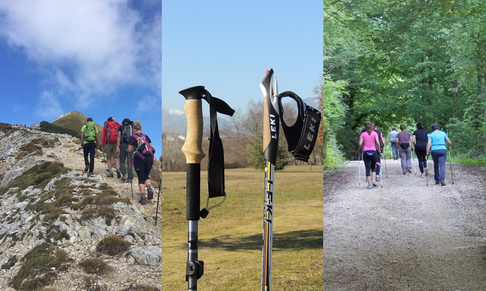 trekking e nordic walking