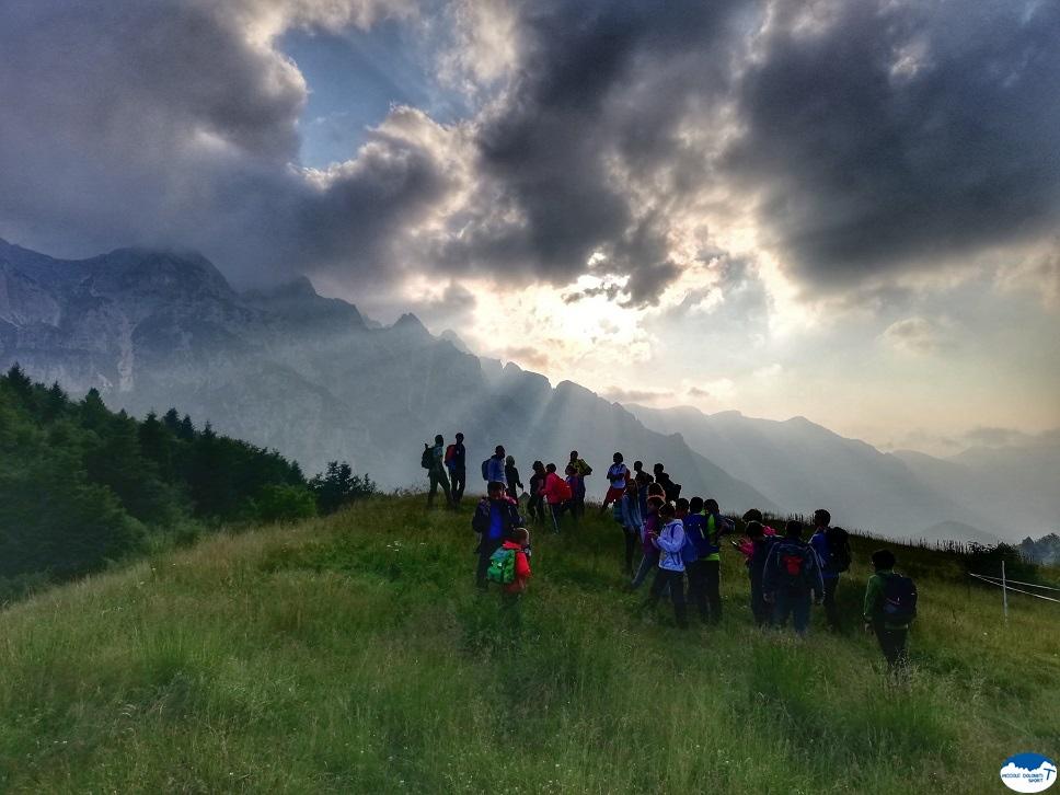 camminando tra i suoni delle Piccole Dolomiti