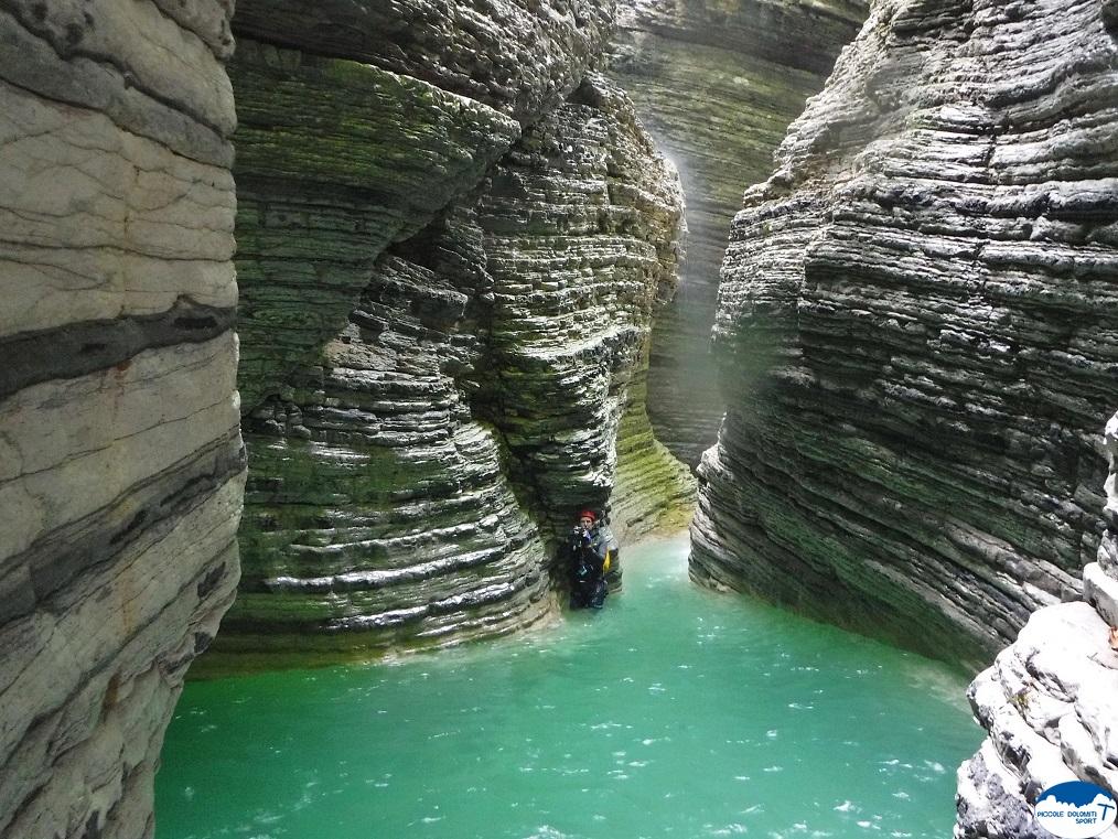 River trekking a Mel