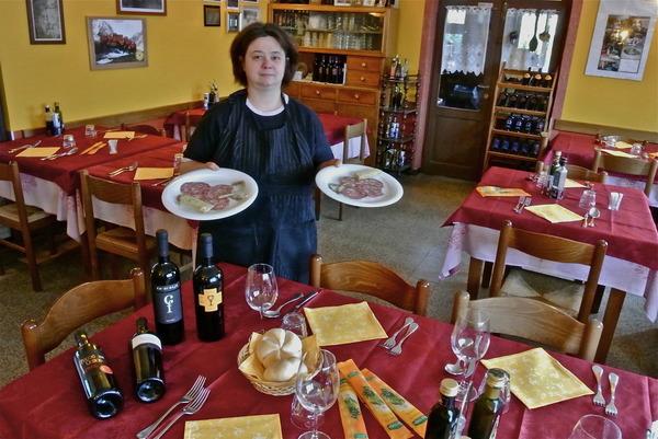 Cristina e i suoi piatti