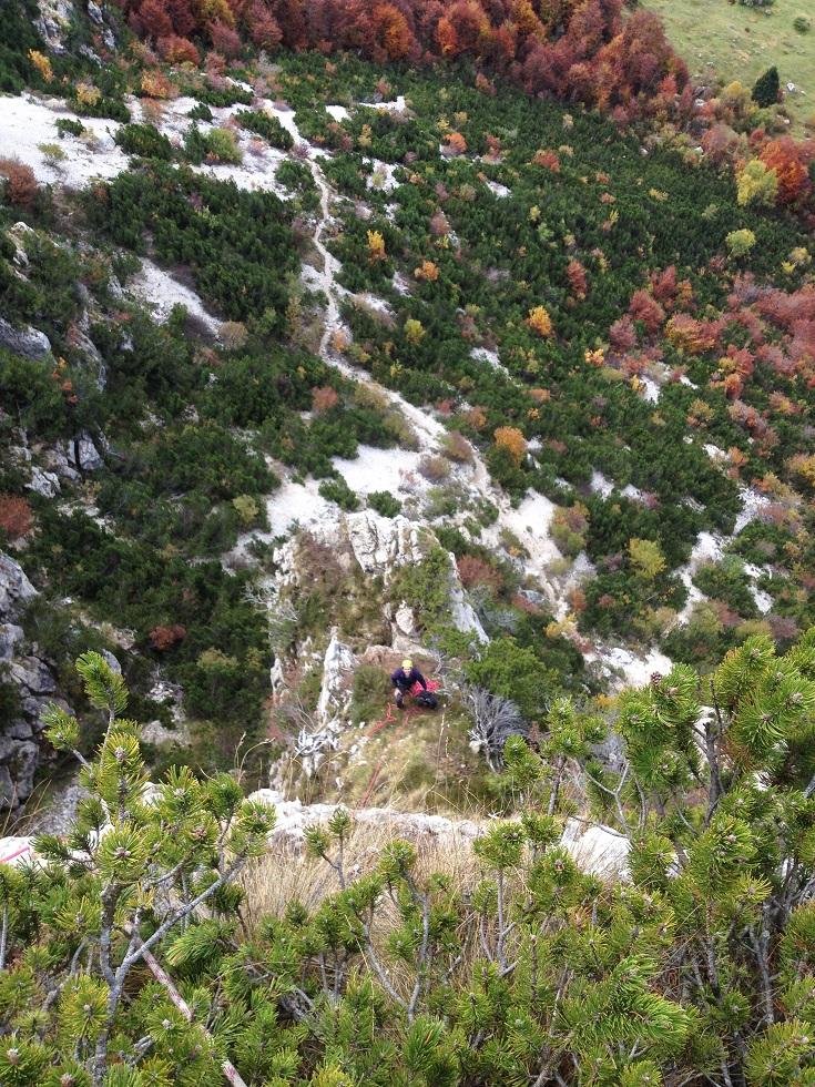 Spigolo Bellavista - Monte Cornetto