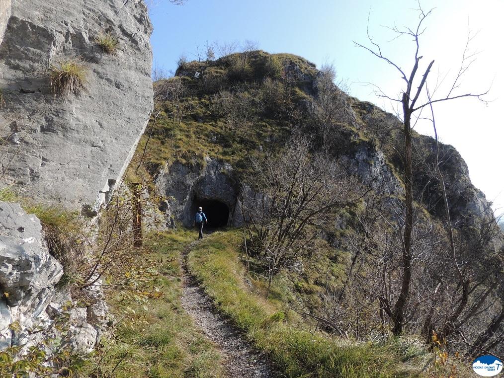 Sentiero di arroccamento Monte Sindio