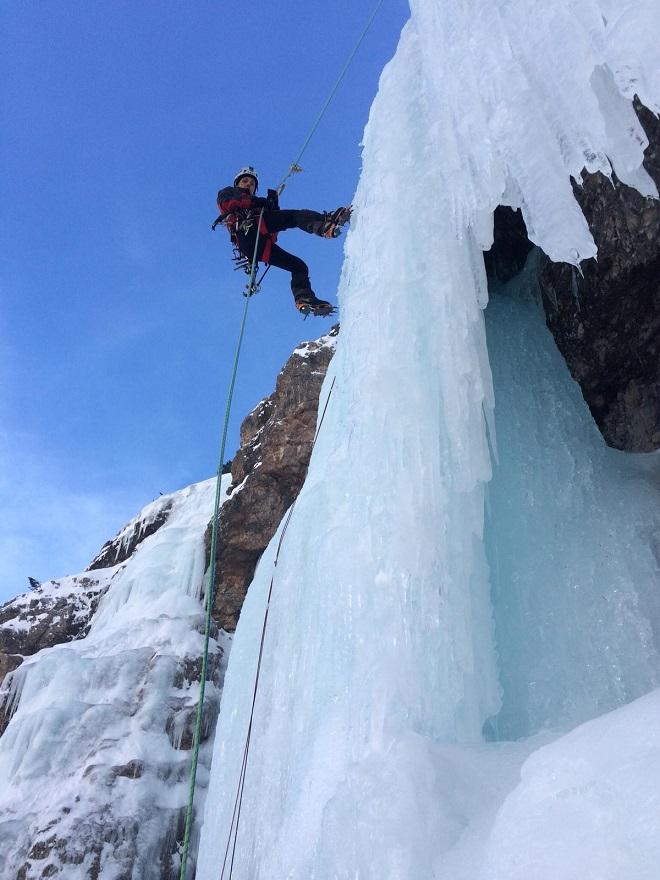 Corso base cascate di ghiaccio 1
