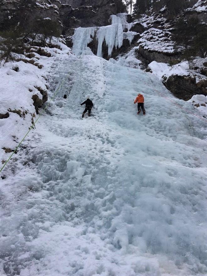 Corso base cascate di ghiaccio 3