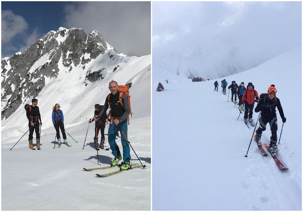 Corso base sci alpinismo