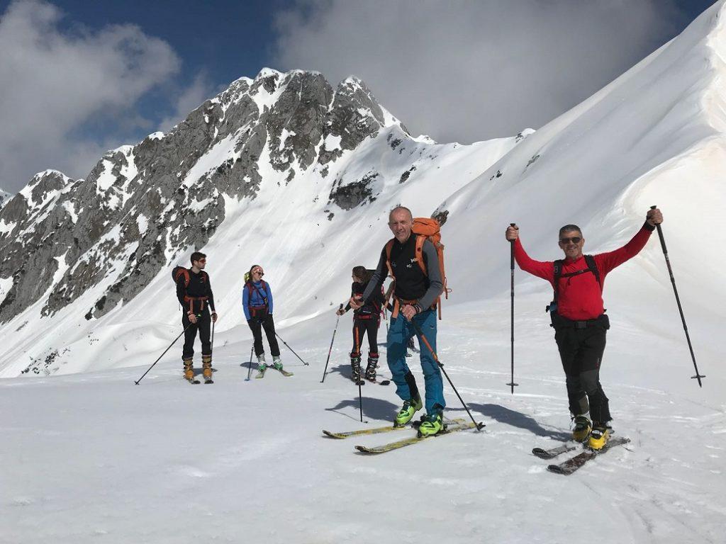 Corso base sci alpinismo 1