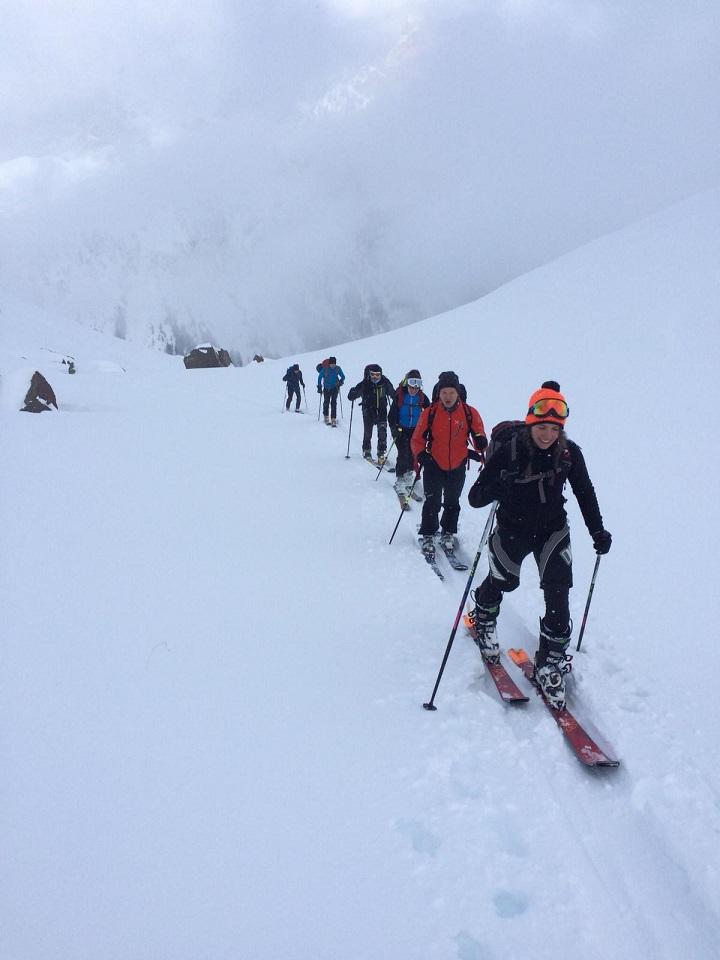 Corso base scialpinismo 5