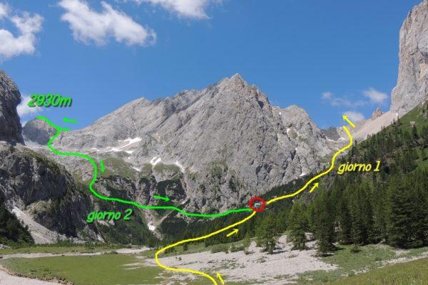 trekking Marmolada