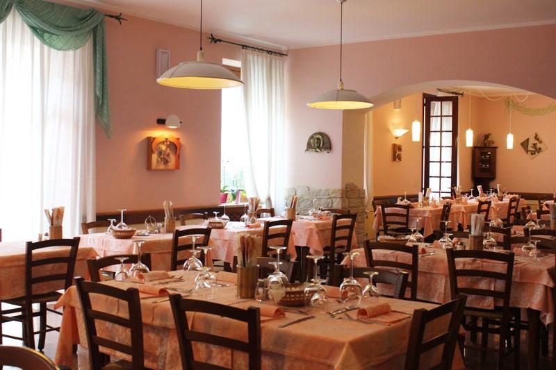 La sala del ristornate