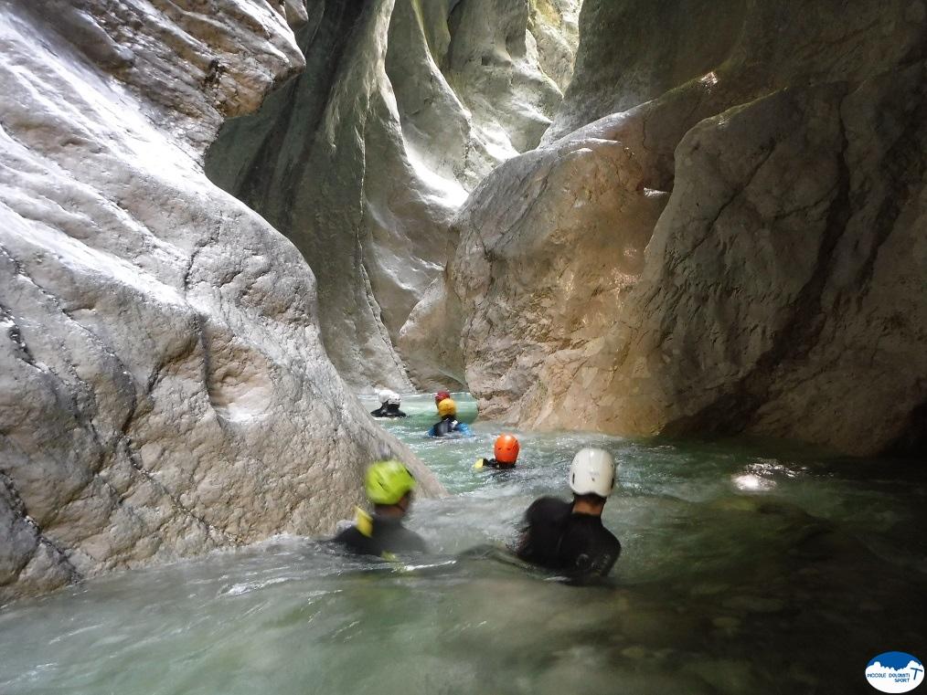 River trekking Andreis