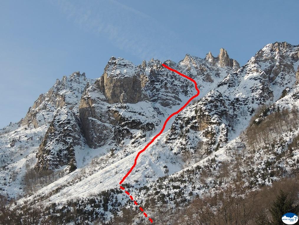 Canale Nord est - Monte Gramolon