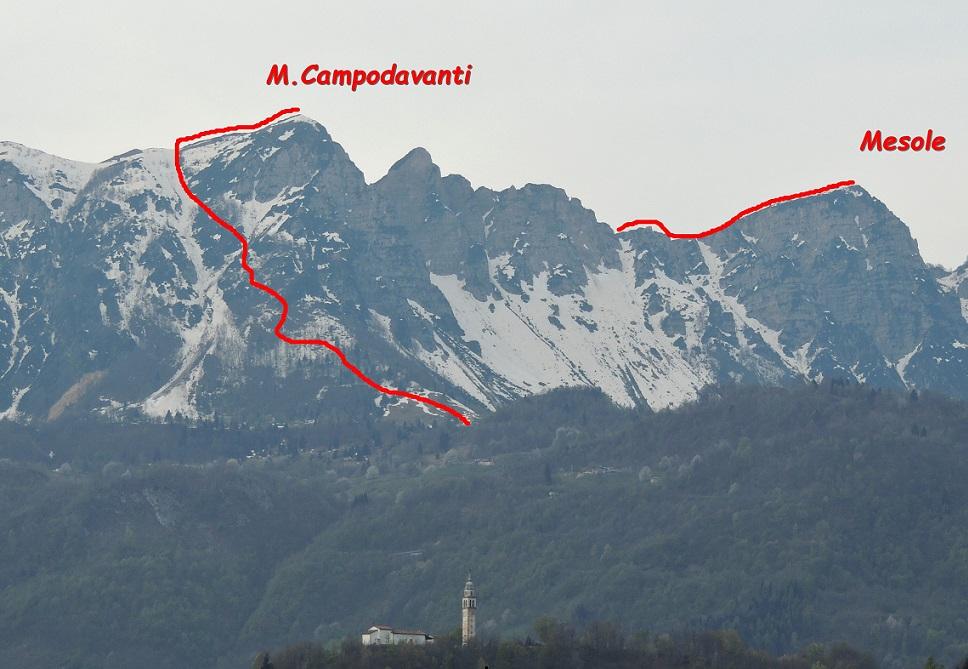 Cima Campodavanti e Mesole
