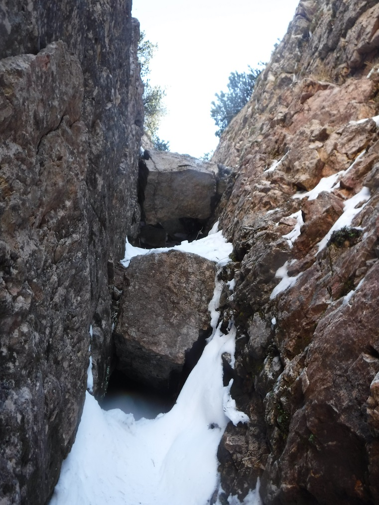 3° e 4° salto di roccia