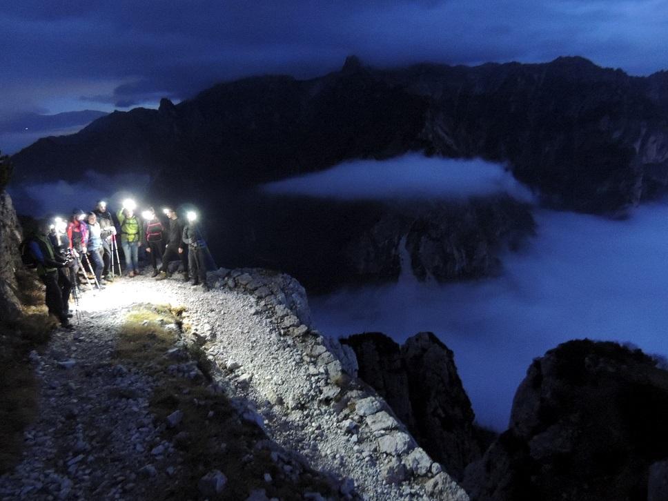 Escursione serale sul Sengio Alto