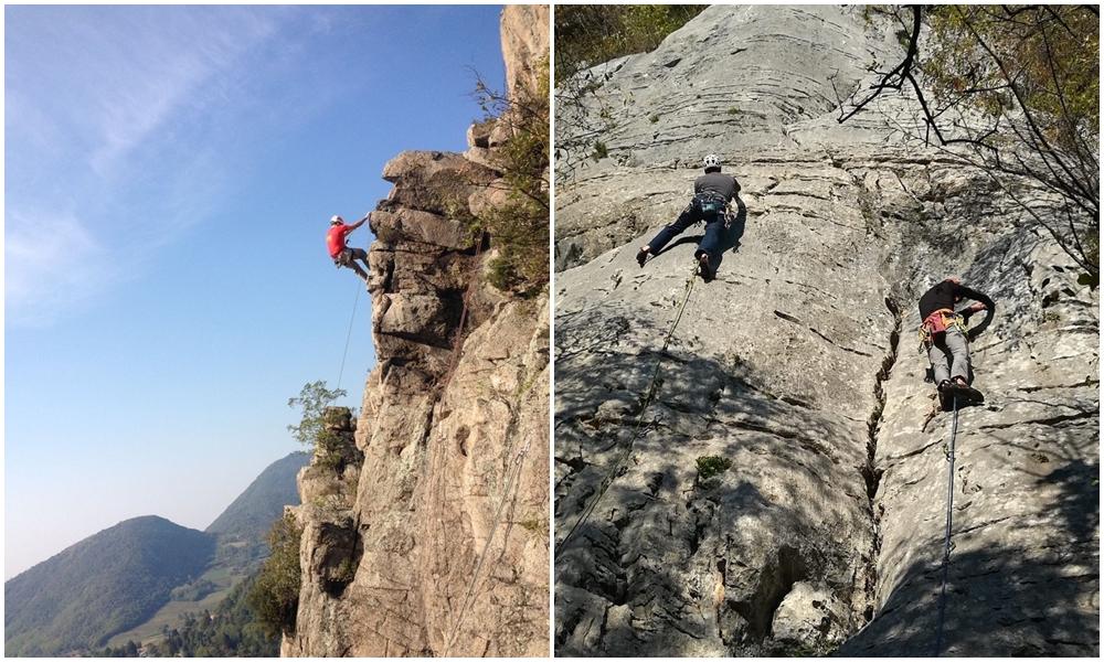 Corso base arrampicata